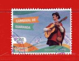 (Us3) Ecuador °- 2017 - Carnaval De GUARANDA.  -  Used. - Ecuador