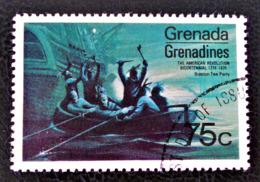 GRENADINES - BICENTENAIRE DE L'INDEPENDANCE DES ETATS-UNIS 1975 - OBLITERE - YT 80 - MI 101 - Grenade (1974-...)