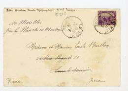 TUNISIE (RF) - N° Yt 156 Obli. DE LE KEF 1924 POUR LONS LE SAUNIER - Tunisia (1888-1955)