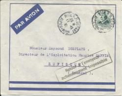 194? - N° 524 Oblitéré (o) SEUL Sur Lettre PA SENEGAL - ACHEMINEMENT IMPOSSIBLE - France