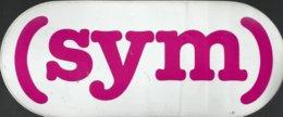 Autocollant - SYM - Autocollants