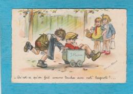 Illustrateur : Germaine Bouret. - Qu'est-ce Qu'on Fait Comme Touches Avec Not' Bagnole !... - Bouret, Germaine