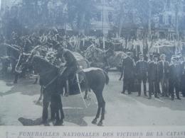 Lot 25 CPA 1911 Catastrophe CUIRASSER LIBERTE Funerailles Marine TOULON VAR 83 - Toulon
