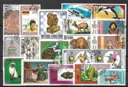 5799 - Lot Timbres Mongolie - Briefmarken