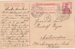 SUISSE 1909   ENTIER POSTAL/GANZSACHE/POSTAL STATIONERY CARTE DE WIENACHT-TOBEL - Ganzsachen