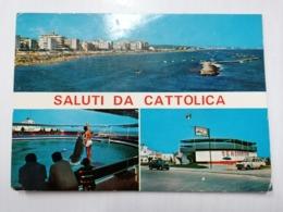 SALUTI  DA CATTOLICA    FORLI   EMILIA - ROMAGNA      VIAGGIATA - Forlì