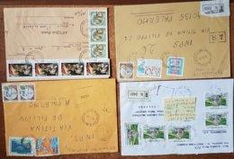Lotto 016 12 Raccomandate Con Affrancatura Multipla  026 - 6. 1946-.. Repubblica