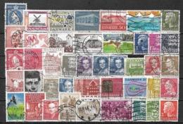 5795 - Lot Timbres Danemark - Briefmarken