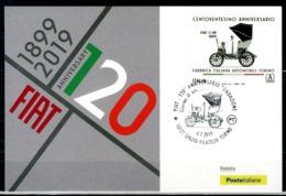ITALIA / ITALY 2019 - FIAT - 120° Anniversario Fondazione - Maximum Card (alto Valore) Come Da Scansione - Automobili
