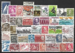5794 - Lot Timbres Danemark - Briefmarken