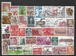 5793 - Lot Timbres Danemark - Briefmarken
