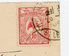 NOUVELLE CALEDONIE (RF) - N° Yt 92 Obli.? POUR POLIGNY - Briefe U. Dokumente