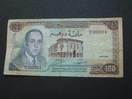 100 Dirhams 1970-1390 Maroc - Banque Du Maroc **** EN ACHAT IMMEDIAT **** - Marokko