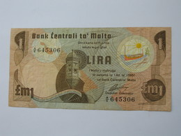 MALTE - Lira - 1 Pound 1967 - Bank Centrali Ta Malta   **** EN ACHAT IMMEDIAT  **** - Malta