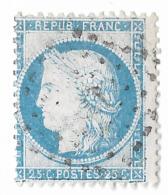 TIMBRES N° 60/1 ;  150 A2 REMPLAÇANT ; RARE  TTB - 1871-1875 Ceres