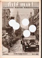Hilf Mit! Illustrierte Deutsche Schülerzeitung,Heft 2 Von 1938,Hitler-Jugend,SS-Battallion - Kinder- & Jugendzeitschriften
