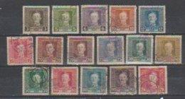 Bosnie-Herzegovine  1917  N° 120 / 134  Oblitéré  = 16 Valeurs : Charles I° - Bosnie-Herzegovine