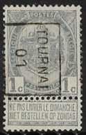 Tournai  1901   Nr. 370B - Precancels