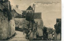 -77-SEINE Et MARNE - MONTIGNY -sur-LOING -Vue Sur L'Eglise - Melun