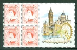 Gibraltar: 1999/2001   QE II Definitives   SG865    30p    MNH Block Of 4 - Gibilterra