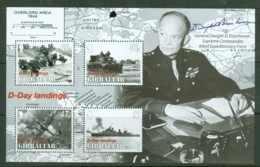 Gibraltar: 2004   60th Anniv Of D-Day Landings  M/S   MNH - Gibilterra