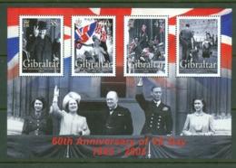 Gibraltar: 2005   60th Anniv Of VE Day  M/S   MNH - Gibilterra