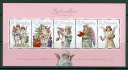 Gibraltar: 2005   Christmas - Angels  M/S   MNH - Gibilterra