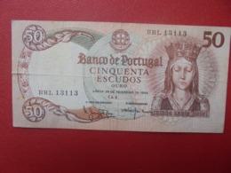 PORTUGAL 50 ESCUDOS 1964 CIRCULER (B.8) - Portugal