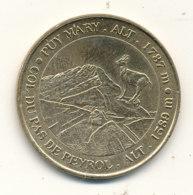 Puy Mary - Le Col Du Pas De Peyrol - Monnaie De Paris
