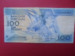 PORTUGAL 100 ESCUDOS 1986 CIRCULER (B.8) - Portugal