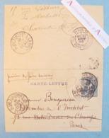 Paul COLIN 1886 Peintre Né à Nimes - Carte Lettre Autographe à William Bouguereau La Rochelle - BOURDIN - Entier Postal - Autographes