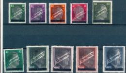 NB - [10302]SUP//**/Mnh-c:320e-N° 543/52, La Série Complète Surchargée - 1945-60 Unused Stamps