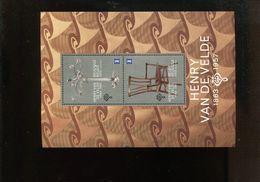 Belgie 2013 Blok Feuillet BL211 EUROPA CEPT Henry Van De Velde Design Furnitura Chair Chandelier  MNH - Libretti 1962-....