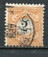 WURTEM - Yv. N° 55 MI. N° 53   (o)  2m Orange  Cote  13,5 Euro BE   2 Scans - Wuerttemberg