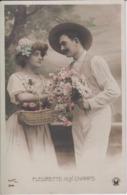 COUPLES - Ensemble De 4 CPA - Dans La Série 3741 - SAZERAC Phot Edition CROISSANT Paris - Couples
