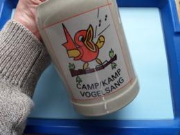 CAMP / KAMP VOGELSANG ( MOK - KOP - KRUIK ) Made In Germany ( Zie / Voir Photos ) H +/- 13 & B 10 > +/- 700 Gram ! - Militaria