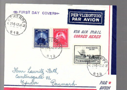 FDC Belgica  Antarctis 1947 > Denmark (743) - ....-1951