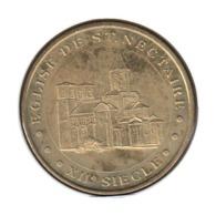 63043 - MEDAILLE TOURISTIQUE MONNAIE DE PARIS 63 - Eglise De St Nectaire - 2012 - Monnaie De Paris
