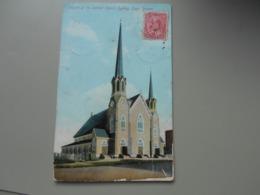 CANADA NOUVELLE ECOSSE CHURCH OF THE SACRED HEART  SYDNEY CAPE BRETON - Cape Breton