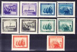 ESPAGNE, Y&T 633A/L * MH. (E79A) - 1931-Heute: 2. Rep. - ... Juan Carlos I