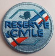"""Ecusson Police Nationale -- """" Réserve Civile """" -- Neuf -- Pour Collection Et Collectionneur - Policia"""