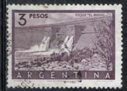 Argentina 1956 - Diga El Nihuil Dam - Argentina