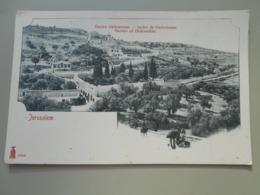 ISRAEL JERUSALEM JARDIN DE GETHSEMANE  PRECURSEUR - Israel