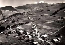 CPSM - CREST-VOLAND - Vue Gale Au Fond Le Mt BLANC - En Avion Au Dessus De .... - Andere Gemeenten