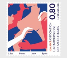 H01 Luxembourg 2019 100 Years 'Luxembourg Midwives Association' MNH Postfrisch - Lussemburgo