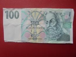 TCHEQUIE 100 KORUN 1995 CIRCULER (B.8) - República Checa