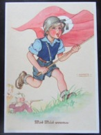 Postkarte Propaganda Lungershausen - Deutschland