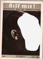 Hilf Mit! Illustrierte Deutsche Schülerzeitung,Heft 7 Von 1939,Hitler-Jugend,HJ,DJ,BDM,Pimpf - Kinder- & Jugendzeitschriften