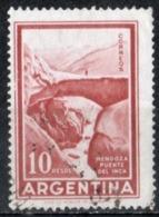 Argentina 1960 - Mendoza Ponte Degli Inca Inca Bridge - Oblitérés