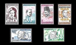 TUNISIE   1984  - Y&T  1006 à 1011 - Bourguiba - La Série Complète - NEUFS** - Cote 4.90e - Tunisie (1956-...)